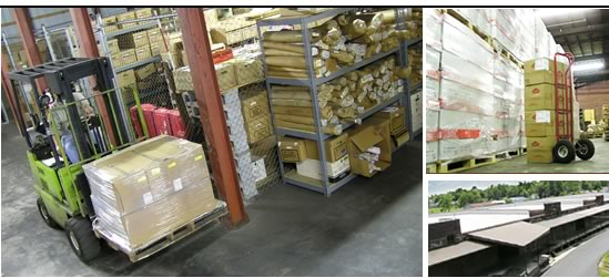 M&E Storage Offers Full Service Warehousing
